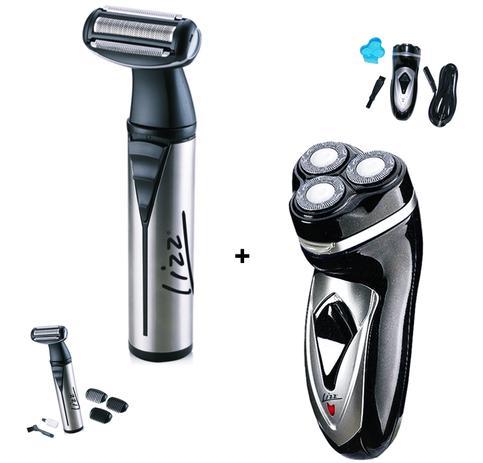 ad4bda8b7 Lizz kit barbeador + aparador de pelos /corpo masc - Barbeador ...