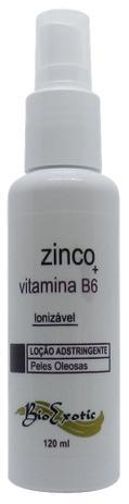 Imagem de Loção Adstringente Facial para Pele Oleosa Ionizável com Zinco e Vitamina B6 Bioexotic