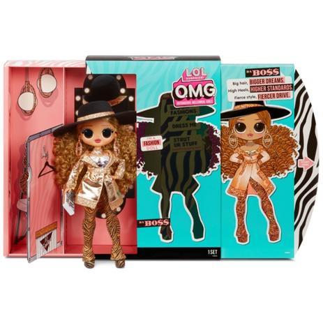 Lol Surprise Omg Serie 3 Da Boss Fashion Doll 15446 Candide Colecionáveis Infantil Magazine Luiza