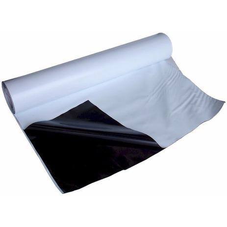Imagem de Lona Preta Branca 200 Micra Super Resistente Tanque e Silagem 10m x 10m Neoplastic