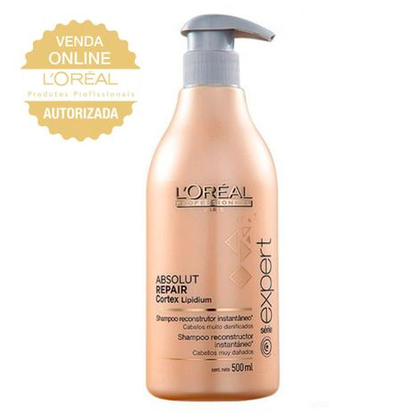 704b071cf LOréal Professionnel Absolut Repair Cortex Lipidium - Shampoo Reconstrutor