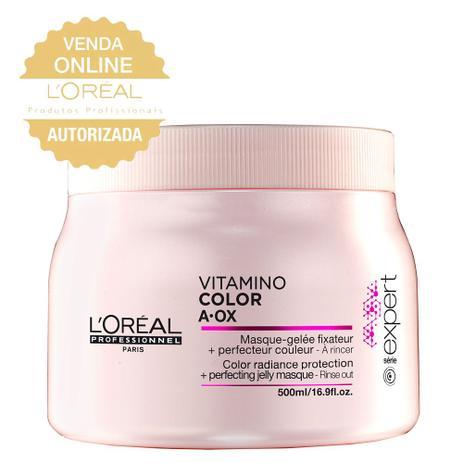 8e2e29556 LOréal Professionnel Vitamino Color A.OX - Máscara de Tratamento ...