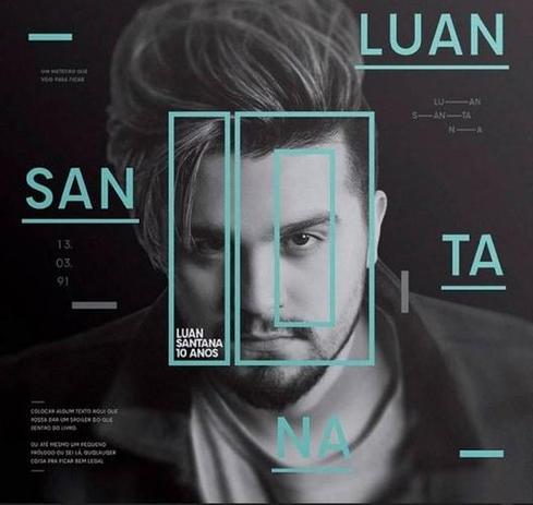 Luan Santana 10 Anos - Bandup! - Livro sobre música - Magazine Luiza adb3e92600