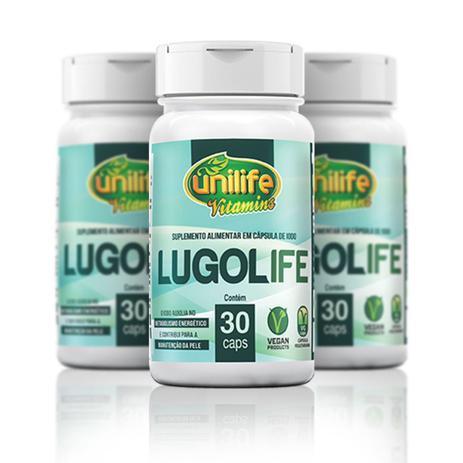 Kit Com 3 Lugolife 30 Cápsulas (iodo) Unilife