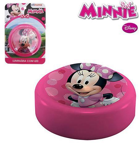 Imagem de Luminária de Parede Minnie Disney c/ Led à Pilha - 133630