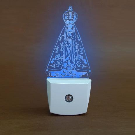 Imagem de Luminária Decorativa Nossa Senhora Azul 6157 DNI