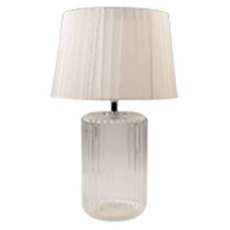 Imagem de Luminaria mesa vidro/metal big bottle base branca