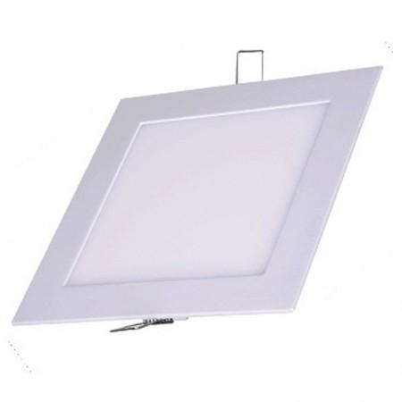 Imagem de Luminária Plafon LED Quadrado Embutir 12w Branco Frio 6500k