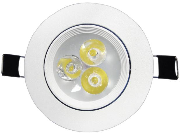 Imagem de Luminária Spot de LED Redonda Branco