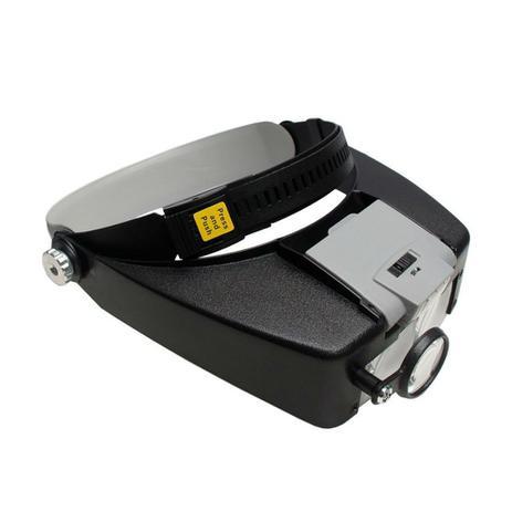 Imagem de Lupa de Pala / Cabeça com 3 Lentes 2 Leds ajustáveis e Bifocal MG81007A1