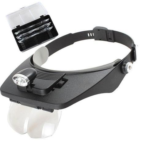 Lupa para cabeça profissional jogo 4 lentes 2 leds CBR03600 - Commerce  brasil - Ferramentas Manuais - Magazine Luiza ca0d0e44f3