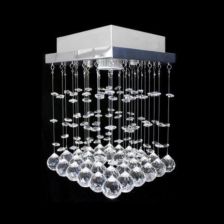 Imagem de Lustre de cristal miyagi quadrado 17x17x20cm - jp-miyagi-17