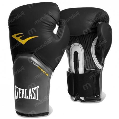 Luva Boxe Everlast pro Style Elite Training 16 Oz Preta - Luva de ... 4a9b807e988f4