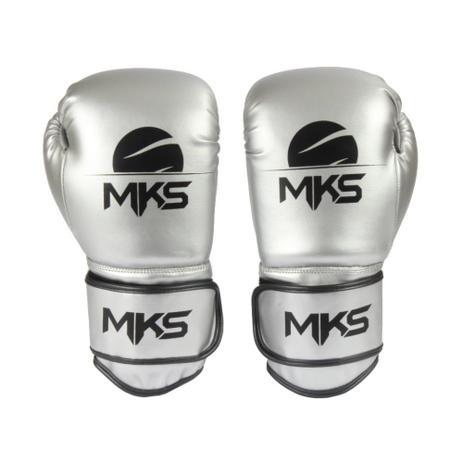 716d1858c Luva Boxe Muay Thai Mks Combat Energy Prata Metalizada - Artes ...