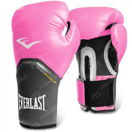 ad438defb Luva Boxe pro Style Elite Training 14 Oz Rosa - Everlast - Luva de ...
