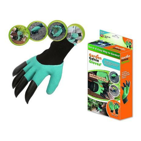 Luva Com Garras Para Jardinagem Proteção Para Mãos Segurança - Geral