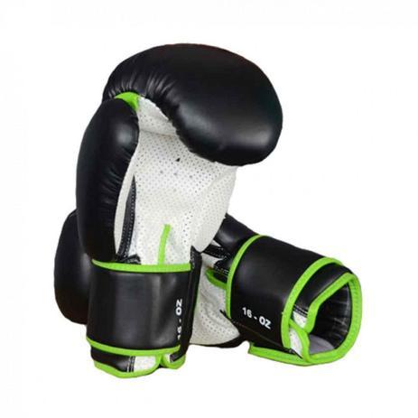 19b2b4efc Luva de Boxe e Muay Thai Profissional 16 Oz Preta Proaction - Luva ...