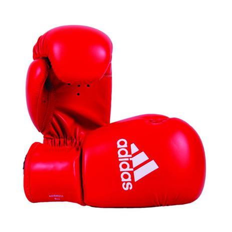 c8ca32a37 Luva de Boxe Infantil Adidas Rookie Vermelho 8 Oz - Esportes ...