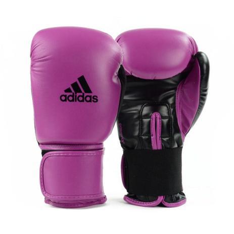 854c4a424 Luva de Boxe Muay Thai Adidas Power 100 Colors Rosa Preto - Artes ...
