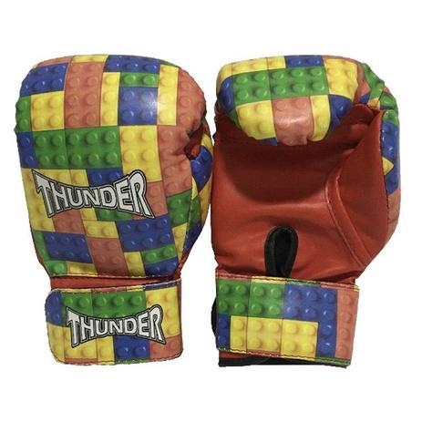 ac9ef72e3 Luva infantil 6 Oz - Boxe   Muay Thai   Kickboxing - Thunder Fight - Ref  1141