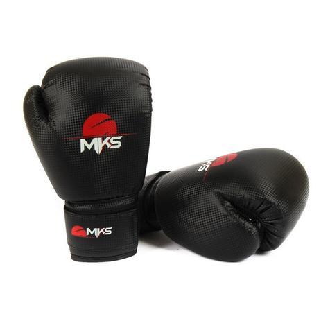 Luva Muay Thai Kickboxing Prospect Mks Combat Preto - Luva Palmar ... 479c9f900c