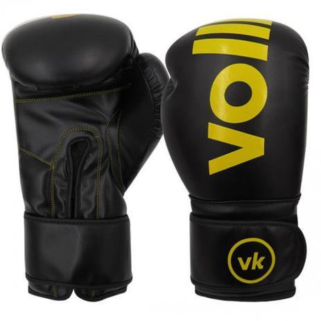 4b9354772 Luva para Boxe e Muay Thai pro Classic Preta 14oz Vollke - Luva de ...