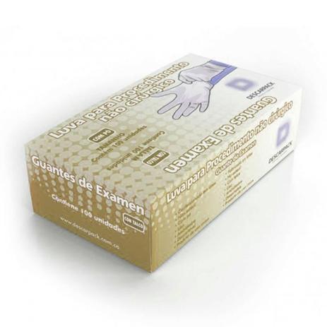 ff89639a391ed Luva Procedimento Descarpack com pó 100 unidades - Luva Cirúrgica ...
