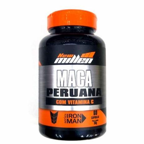 Imagem de Maca Peruana com vitamina C 60 caps new Millen