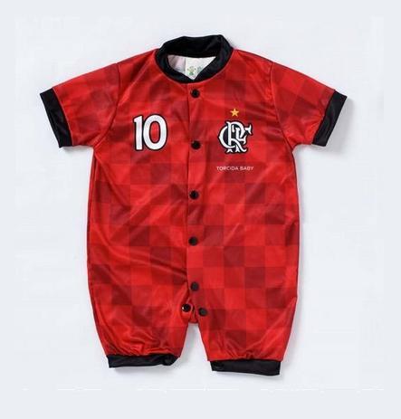 fe920d542dc Macacão Curto Bebê Flamengo Torcida Baby - Macacão e Jardineira para ...