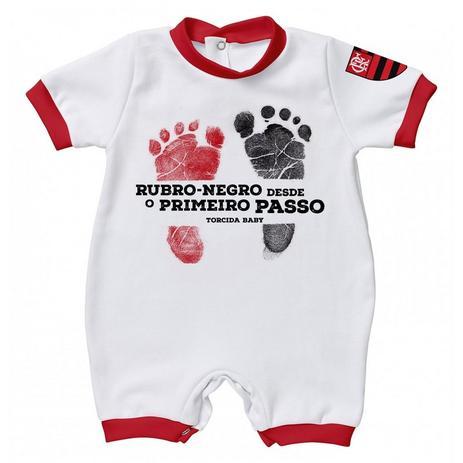 727fe706e0de2 Macacão Flamengo Primeiro Passo - Torcida Baby - Macacão e ...