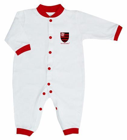 0b97988a41 Macacão Longo Flamengo 1 Peças Torcida Baby - 006 - Macacão e ...