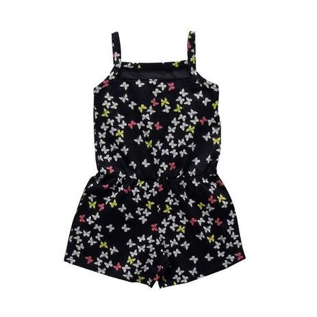 a624f5b229 Macaquinho infantil menina borboletas - Kyly - Roupas Infantis ...