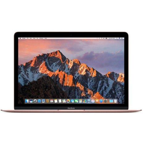 "MacBook Apple Dourado 12"", 8GB, SSD 512GB, Intel Core i5 dual core de 1,3GHz - MNYN2BZA"