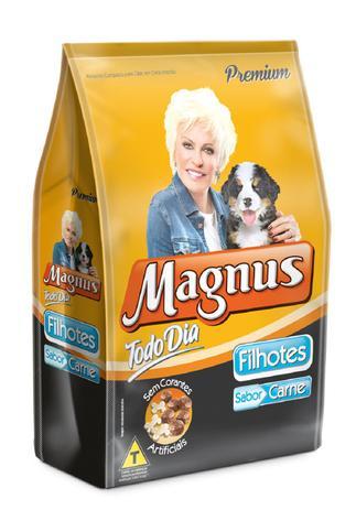 Imagem de Magnus dog filhote todo dia 03 kg