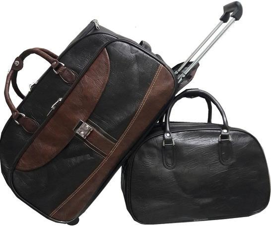 Imagem de Mala Bolsa de Viagem, rodinhas, bordo, média e  Bolsa mala pequena de mão - Fany