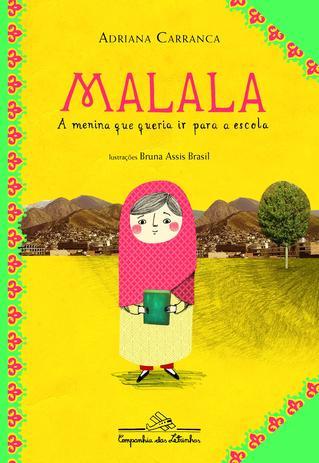 Imagem de Malala, a menina que queria ir para a escola