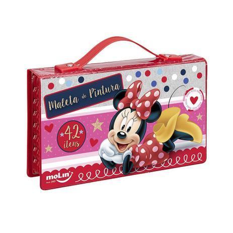 40d351227 Maleta de Pintura Minnie 42 itens - Molin - Material Escolar ...