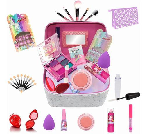 Imagem de Maleta Infantil + Kit maquiagens e itens de beleza BZ40
