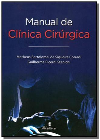 Imagem de Manual de clinica cirurgica