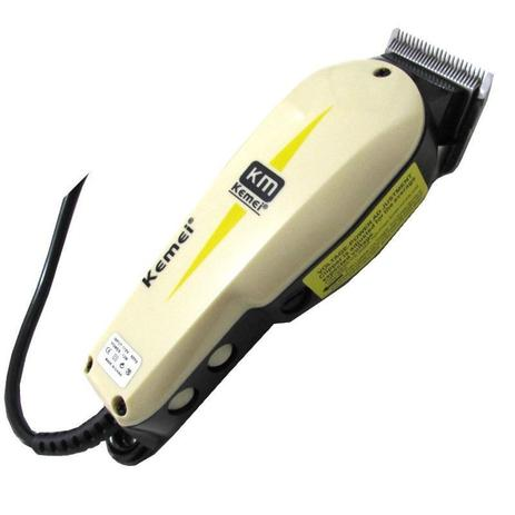 Máquina Corta Cabelo Barba Profissional Kemei 220v Kemei 8829