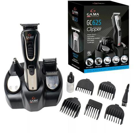 089c22db5 Máquina cortador de cabelo barba e pelos 10 em 1 Gama GC625 ...