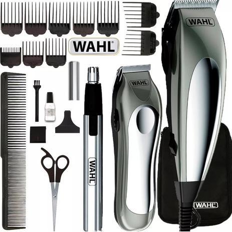 Máquina Corte Wahl Deluxe Groom Pro Cabelo Barba Nariz 127v