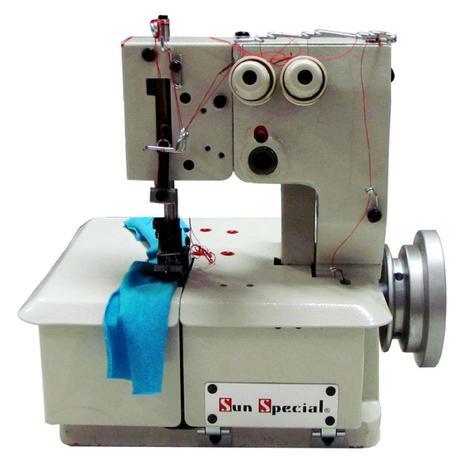 Imagem de Máquina Costura Semi-Industrial Galoneira Base Plana SS2600 Sun Special