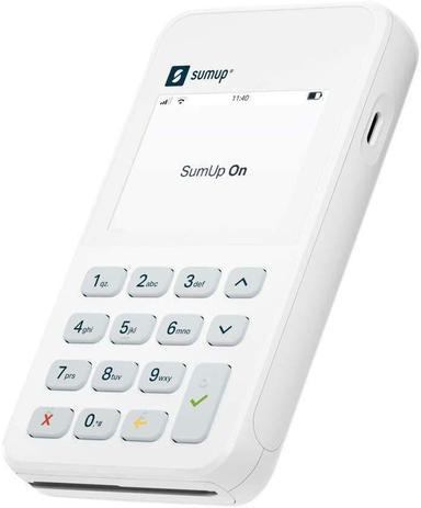 Imagem de Máquina De Cartão Com Chip 3g E Wifi Sem Celular Sumup On - D195 On