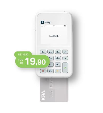 Imagem de Máquina de Cartão SumUp ON Débito e Crédito