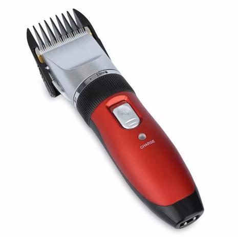 6c42fd5dc Máquina De Cortar Cabelo barba pezinho e pelos Bivolt Recarregável -  Playshop eletrônicos