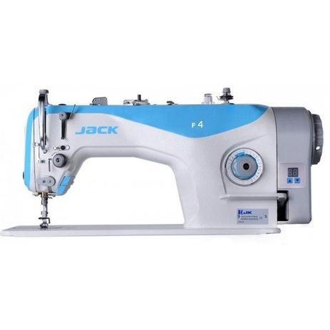 Imagem de Máquina de Costura Reta Industrial Semi Eletrônica, c/ Direct Drive, 1 Agulha, 2 Fios, Transp. Simples, Lubrif. Automática, 550W, F4