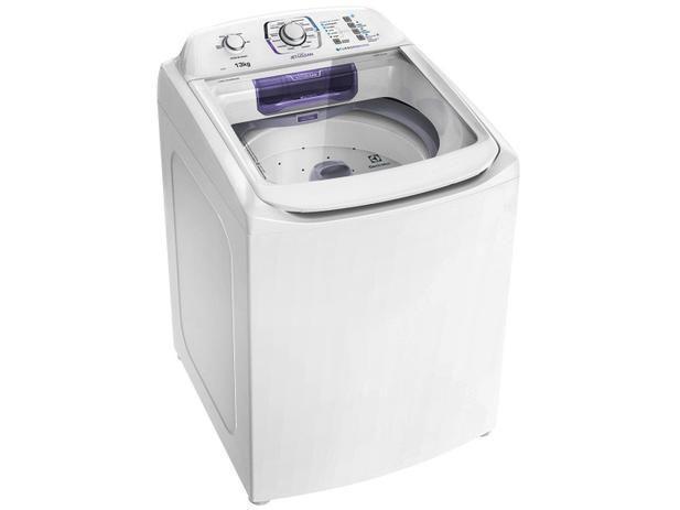 Imagem de Máquina de Lavar 13kg Electrolux Turbo Economia, Silenciosa com Jet&Clean e Filtro Fiapos LAC13 - 220V