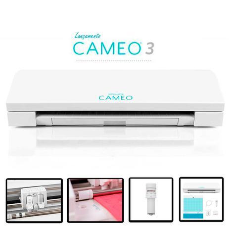 Máquina de Recorte Silhouette Cameo 3 - 3t com Display Touchscreen - Bivolt  Automático fedf28e47f