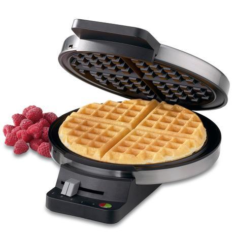 20624744b Máquina para waffle em aço escovado Cuisinart -220V wmr-ca - Cozinha ...